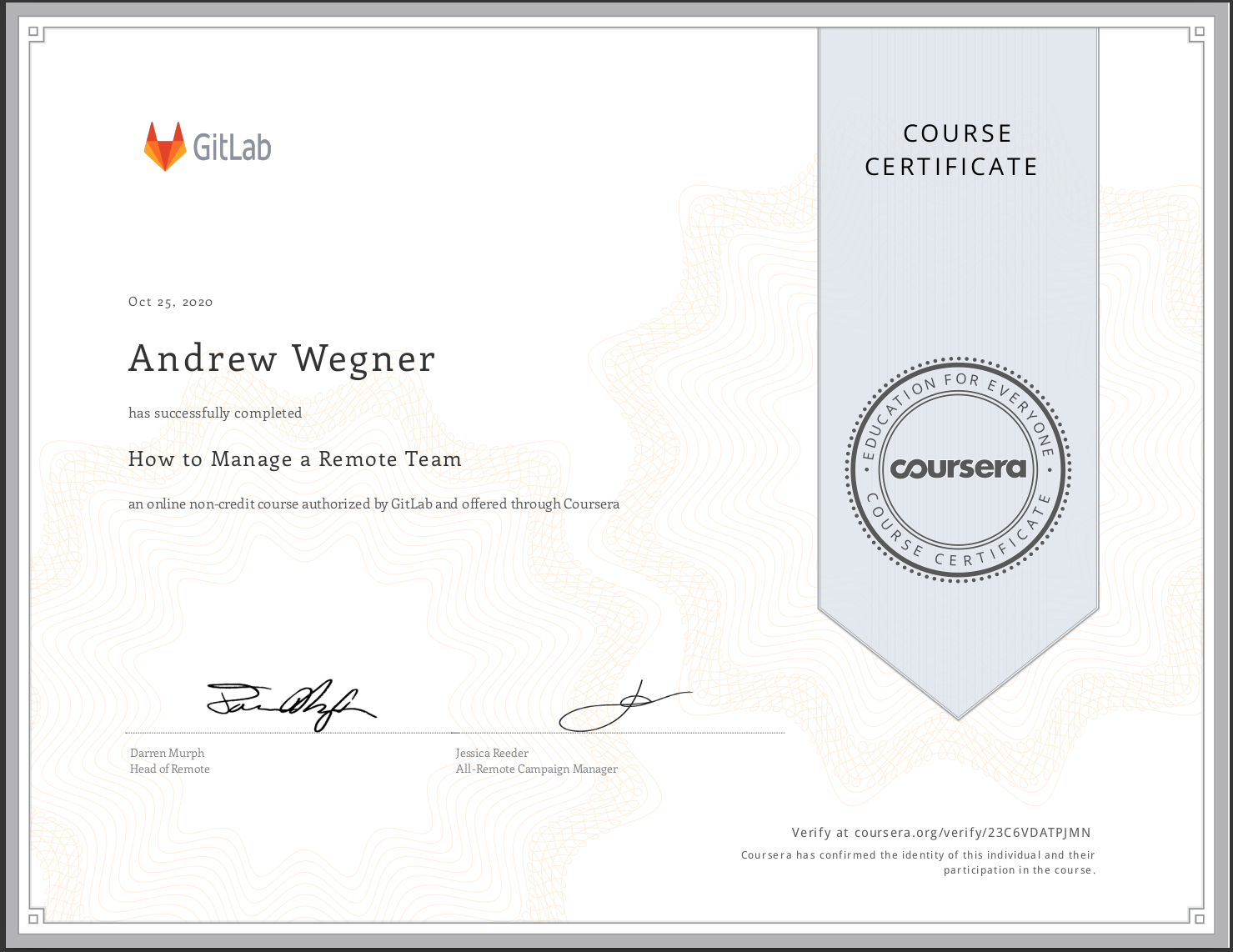 How to Manage a Remote Team Certificate