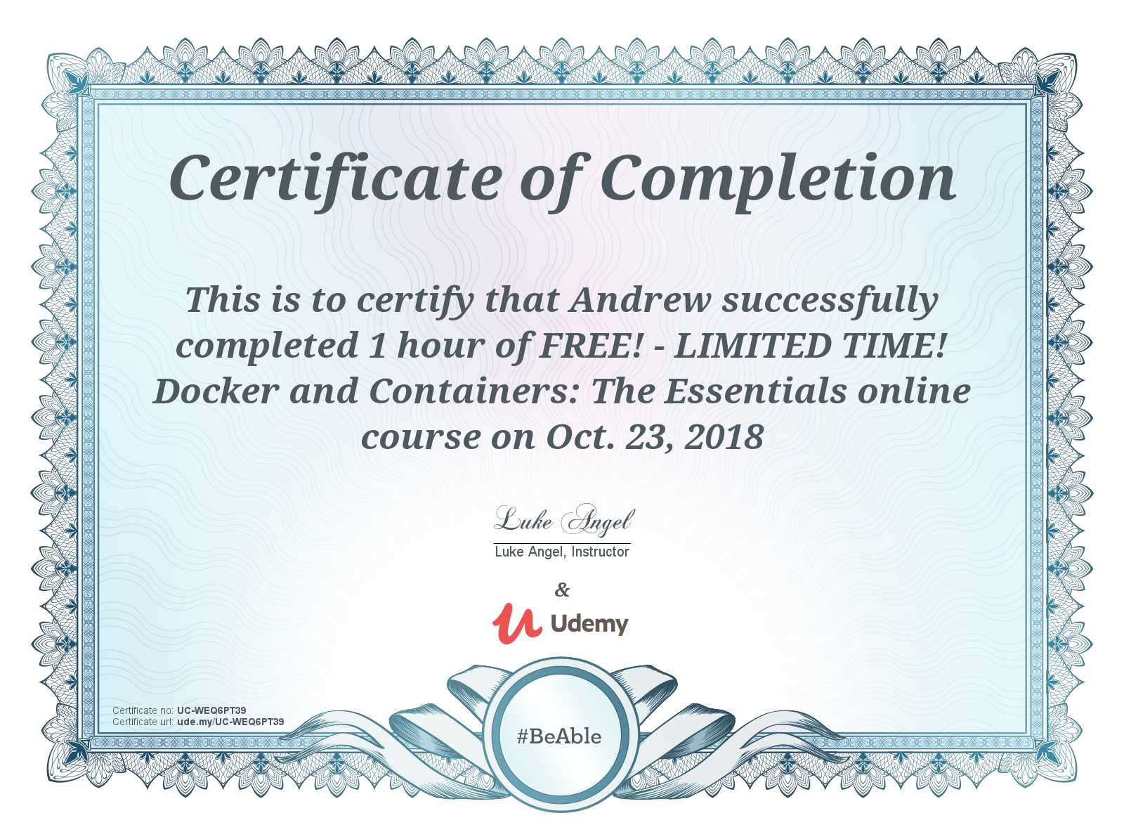 Review of Udemy's Docker and Containers: The Essentials