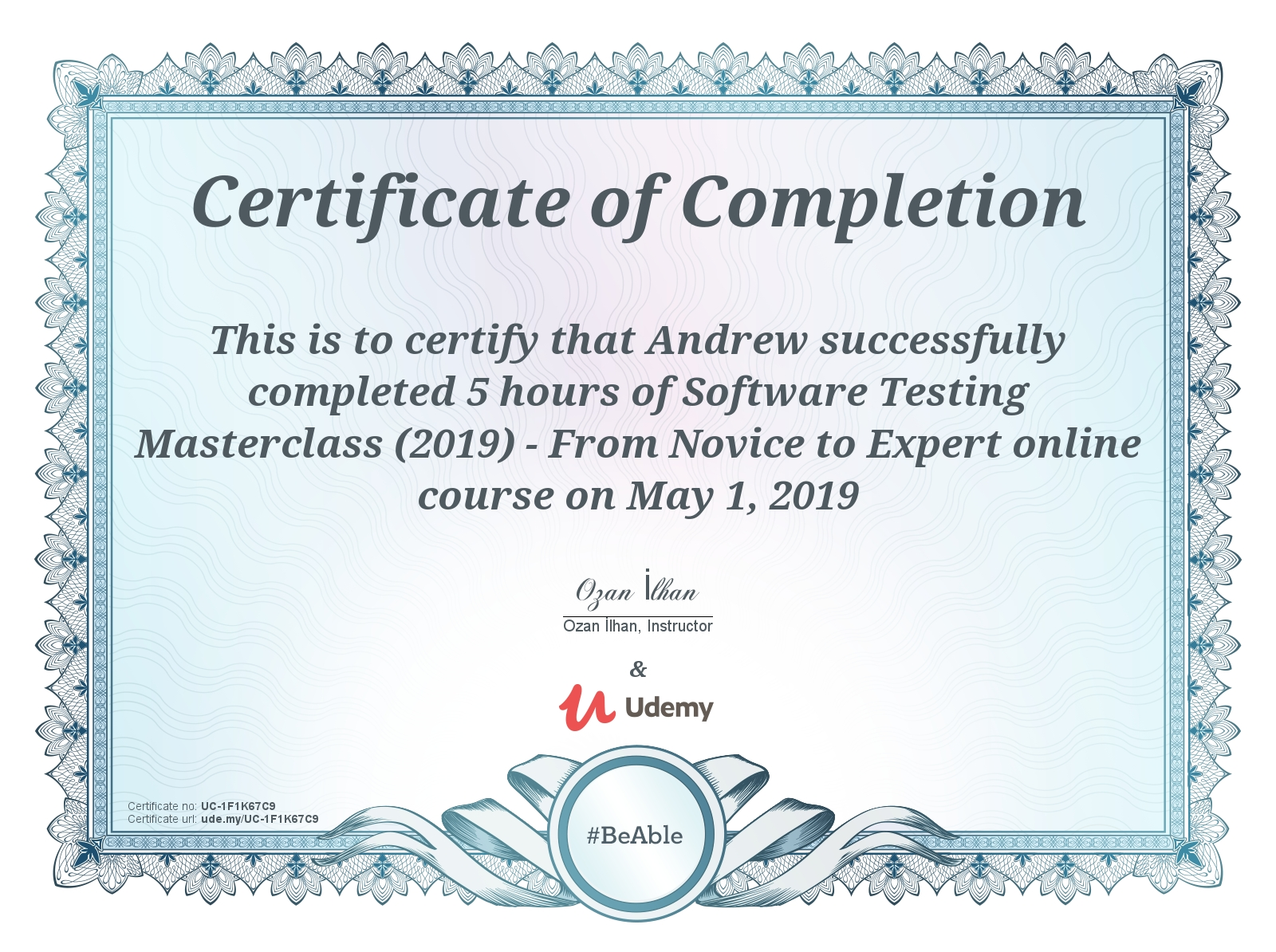 Software Testing Masterclass (2019) - From Notice to Expert